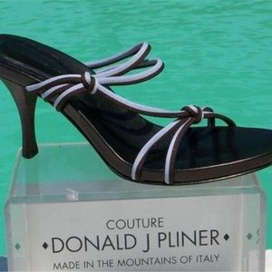 Couture Mesh Elastic Leather Shoe Expresso Lavende